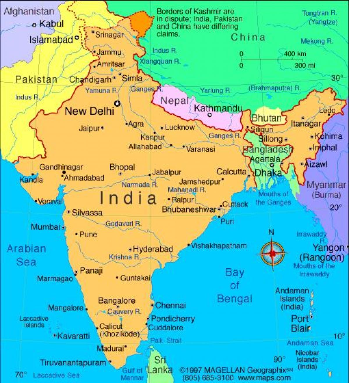 La Carte De Linde Linde Carte Com Asie Du Sud Asie